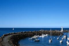Wollongong hamn Fotografering för Bildbyråer