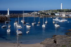 Free Wollongong Harbour 2 Royalty Free Stock Image - 36639276