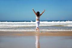 wolna kobieta Zdjęcie Royalty Free
