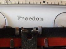 Wolność Obraz Stock