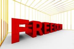 Wolność blokująca up Obrazy Stock