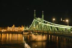 Wolność most Zdjęcia Royalty Free