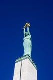 wolność pomnik Riga Fotografia Royalty Free