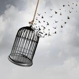 Wolność pomysłu pojęcie zdjęcia stock