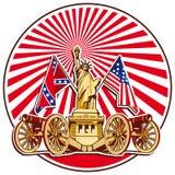 wolność wey royalty ilustracja