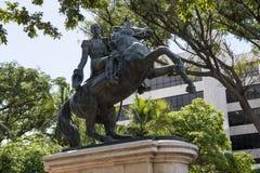 Wolność wojownik Simon Bolivar obrazy stock