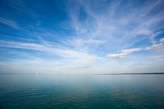 wolności żeglowania nieba światło słoneczne Fotografia Stock