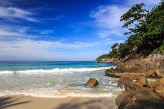 Wolności plaża, Phuket, Tajlandia Fotografia Stock