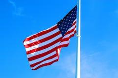 Wolności flaga zdjęcie royalty free