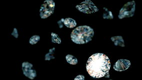 Wolno spada diamenty