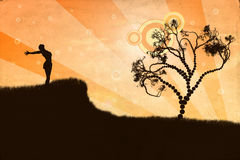 wolności ilustracja Fotografia Royalty Free