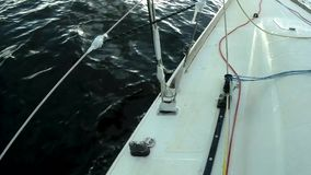 Wolny chodzenie jacht zbiory