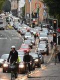 Wolny Poruszający ruch drogowy Zdjęcia Royalty Free