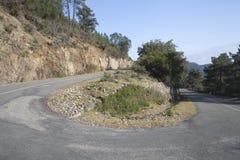 Wolny sposób w Lesie Hurdes, Extremadura zdjęcie stock