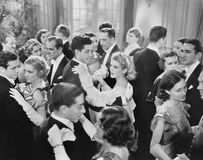 WOLNY taniec (Wszystkie persons przedstawiający no są długiego utrzymania i żadny nieruchomość istnieje Dostawca gwarancje że tam Obraz Royalty Free