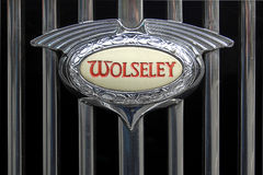 Wolseley Car Badge Royalty Free Stock Photos