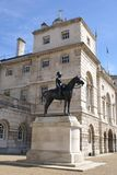 Wolseley monument, Horse Guards, London, England Royalty Free Stock Images