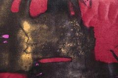 Wolstof met kleurrijk abstract patroon Royalty-vrije Stock Afbeeldingen