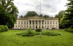 Wolsztyn palace. In Greater Poland, Poland Stock Photo
