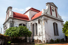 Wolvendaal Church - a Dutch Reformed Christian Colonial VOC Church in Colombo, Sri Lanka Stock Photography