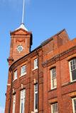 Wolverhampton. In West Midlands, England. Old brick residential architecture royalty free stock image