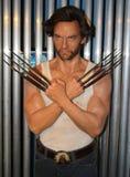 Wolverine bij Mevrouw Tussaud's Stock Afbeeldingen