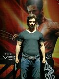 Wolverine by Hugh Jackman wax statue Royalty Free Stock Images