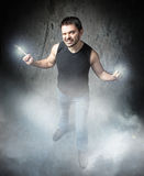 Wolverine style for funny man Royalty Free Stock Photos