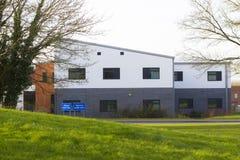 Wolverton Health Centre in Milton Keynes, England. Milton Keynes, England - February 16, 2016: City view with Wolverton Health Centre, local General Practice, in Stock Image