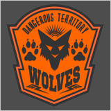 Wolves - military label, badges and design Stock Images