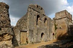 Wolvesey Schloss, Winchester Lizenzfreie Stockfotos