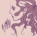 Woman_005 Stock de ilustración