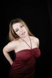 Woman-10 attraente Fotografia Stock