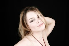 Woman-11 atractivo imagen de archivo