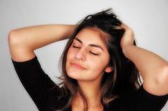 Woman-13 casuale Immagini Stock Libere da Diritti