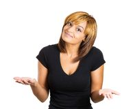 Woman with Royalty Free Stock Image