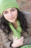 Woman. Winter woman Royalty Free Stock Images