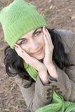Woman. Autumn woman Stock Image