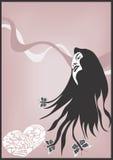 Woman royalty free illustration