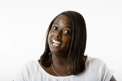 Woman. Pretty girl smiling Stock Photo