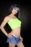 Woman abs. Young woman with a great body Stock Images