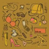 Woman accessories Stock Photography