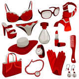 Woman accessories Royalty Free Stock Photos