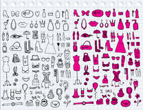 Woman Accessories Royalty Free Stock Images