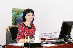 Woman accountant Stock Photos