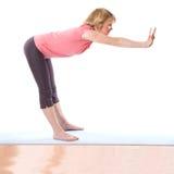 Woman aerobic Stock Photo