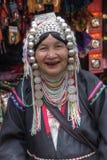 Woman - Akha tribe - Chiang Mai - Golden Triangle - Thailand stock photography