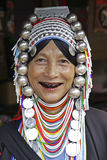 Woman from the Akha tribe, Thailand Stock Photos