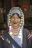 Woman from the Akha tribe, Thailand Royalty Free Stock Photo