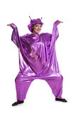 Woman in alien costume Royalty Free Stock Photos